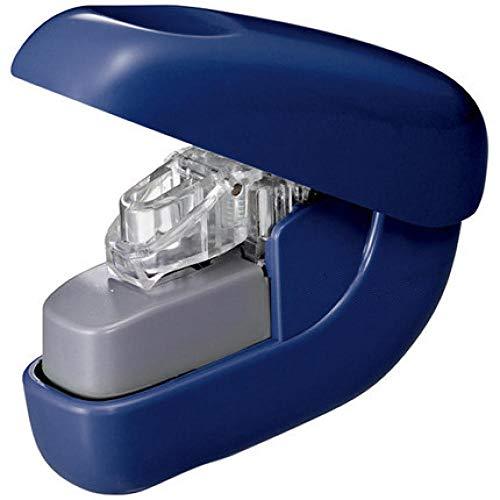 Agrafeuse sans agrafes sécuritaire et économe en énergie, agrafeuse à air sans agrafes, bureau des étudiants, peut commander 6 feuilles de papier-Bleu