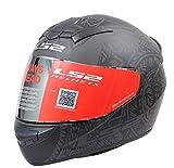 LS2 The Riders Den - LS2 Helmets - FF352 Rookie - Takaroa - Matt Black Grey - Single Mercury Visor...