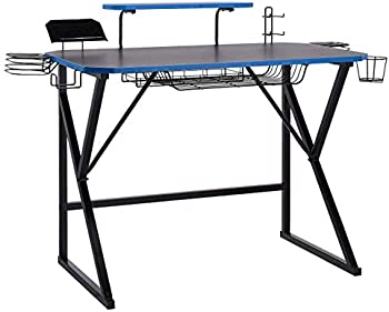 Amazon Basics Gaming Computer Desk with Storage (3 colors)