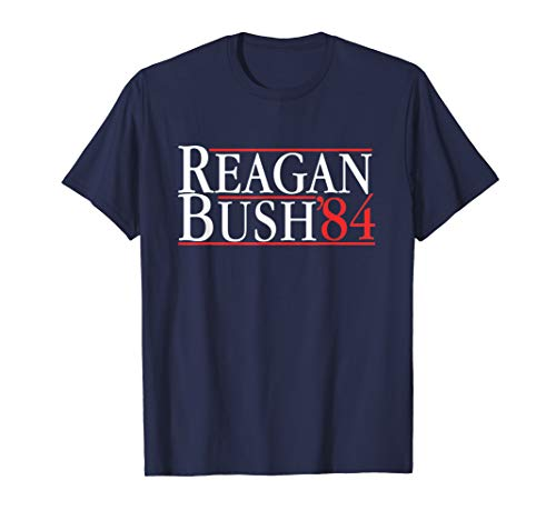 Herren The OFFICIAL Reagan Bush '84 T-Shirt For Men