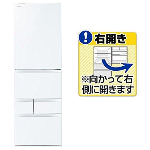 東芝 465L 5ドア冷蔵庫(クリアシェルホワイト)【右開き】TOSHIBA GR-M470GW-ZW
