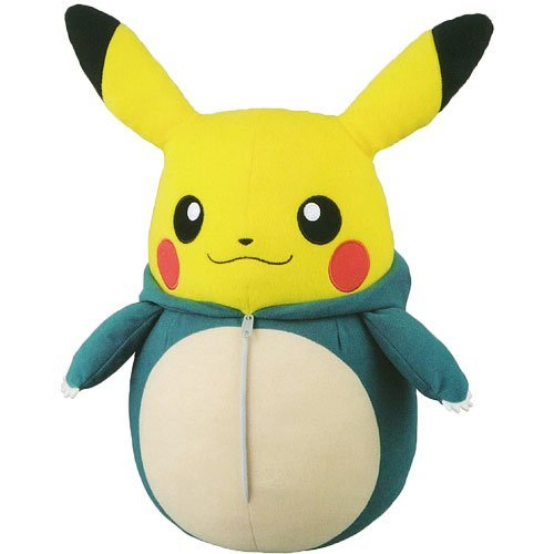 Pikachu sleeping bag collection Mecha big stuffed Snorlax (prize)