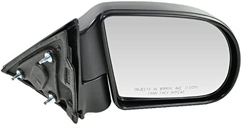 Black Textured Manual Side View Mirror trend rank Passenger low-pricing Bl Right for RH