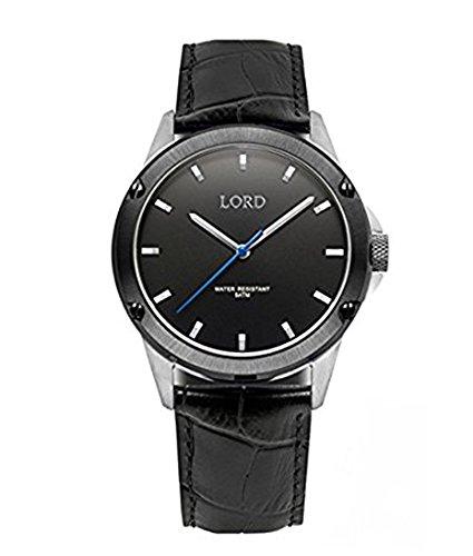 Reloj Lord Timepieces Perno Negro Plata