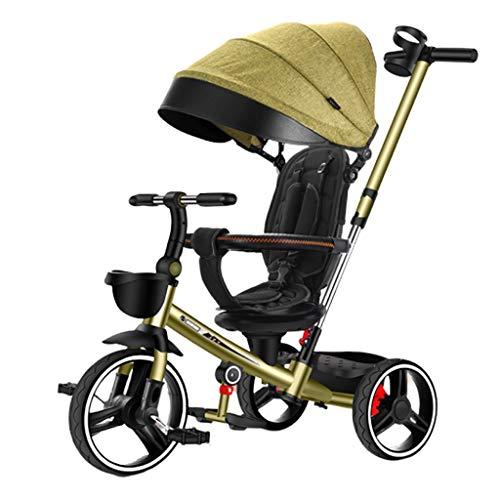 Jiji kinderwagentje kinderdriewieler inklapbaar lichtgewicht kinderfiets hoeft niet te worden geïnstalleerd Cup houder verstelbare kinderwagen