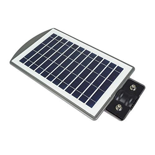 Haudang - Radares de luz solar de 20 W con sensor de movimiento PIR, impermeable, LED, lámpara de pared para parque, jardín, patio