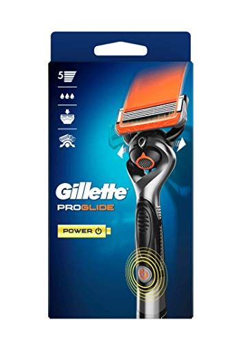 Gillette - ProGlide Power Rasierapparat Für Herren - Mit 5 Anti-Reibungsklingen Für Eine Gründliche Und Langanhaltende Rasur - 1x Nachfüllpackung