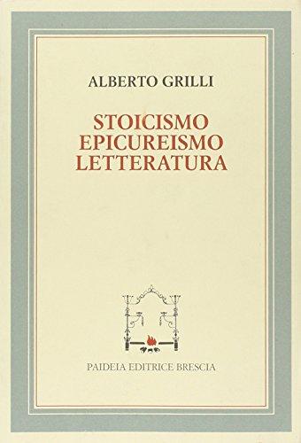 Stoicismo, epicureismo e letteratura