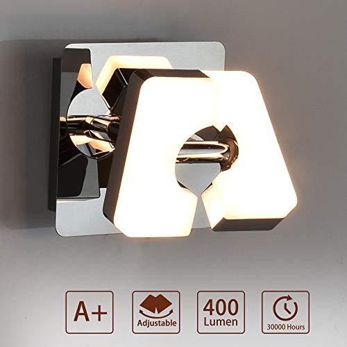PADMA 5W LED Wandleuchte Schwenkbar Strahler Innen Wandstrahler Led Wandlampe Vintage Warmweiße Deckenleuchte Strahler Wohnzimmer Flurlampe Wandleuchte für Küche Flur