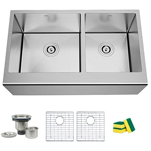 TORVA 33 Inch Farmhouse Kitchen Sink...