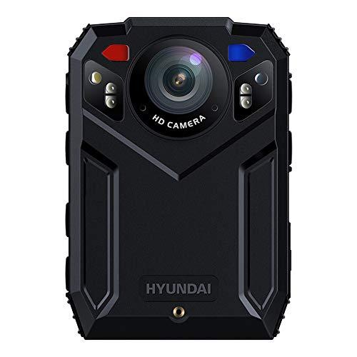 HOUSEHOLD Grabadora de Campo Profesional portátil, HD 1296P, visión Nocturna por Infrarrojos, cámara Corporal