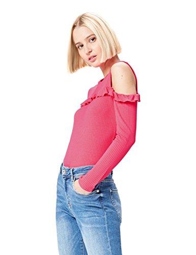 find. 17AMZ024 camisetas mujer fiesta,, Rosa (Fuchsia), 38 (Talla del Fabricante: Small)