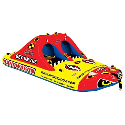 Airhead Sportsstuff Bandwagon 2 2 4 Rider Towable Inflatabl