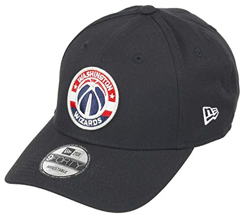 New Era Washington Wizards 9forty Adjustable Snapback cap NBA Essential Black - One-Size