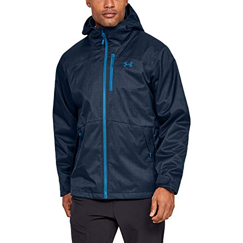 Under Armour Men's Porter 3-in-1 Jacket , Academy Blue (408)/Cruise Blue , Small
