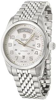 Victorinox - Swiss Army Ambassador 24150 - Reloj de Caballero automático, Correa de Acero Inoxidable Color Plata