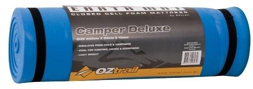Colchoneta de espuma de 10mm Earth Mat Camper Deluxe EMF-EM10-B esterilla, colchoneta de camping, para acampar 200x50x1cm 410gr, colchón aislante