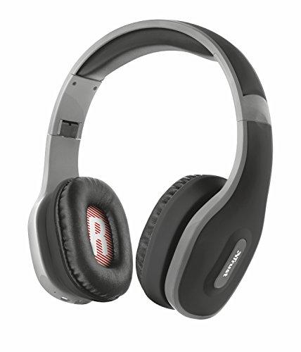 Trust Urban Mobi Bluetooth Kopfhörer (kabellos) schwarz