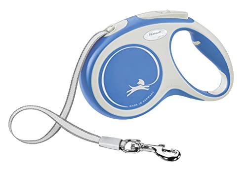 Kerbl Flexi Leine New Comfort Gurt Rollleine, Hundführleine Hundeleine, blau, 25 kg