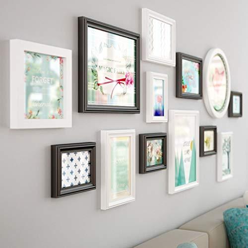 ZXYY Photo muur combinatie achtergrond foto muur mode fotolijst muur fotoalbum muur bank woonkamer ideeën Achtergrond muur decoratie (Kleur : B)