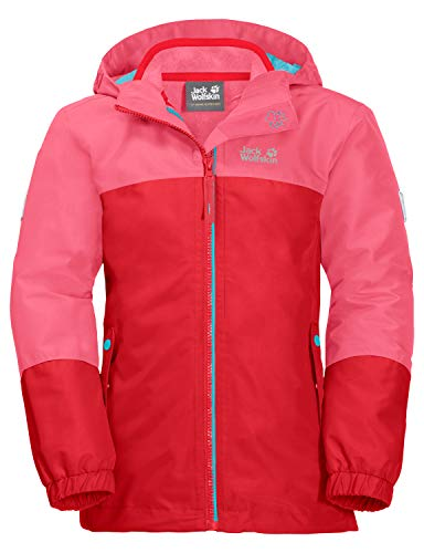 Jack Wolfskin Kinder G Iceland 3IN1 JKT 3in1-jacke, Coral pink, 92