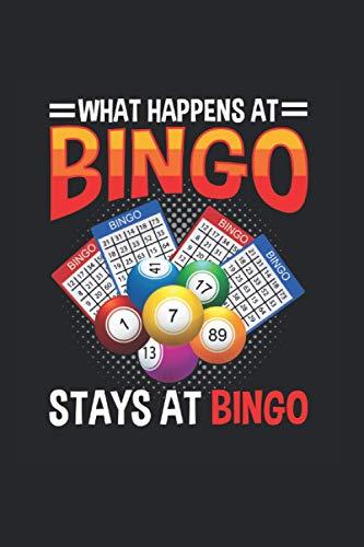 Bingo: Lustiges Bingo Spieler Bälle Kartenspieler Zitat Notizbuch DIN A5 120 Seiten für Notizen Zeichnungen Formeln | Organizer Schreibheft Planer Tagebuch