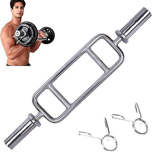 34 Barbell Hammer Curl Weight Bar, barra ajustable de 2 pulgadas, para entrenamiento cruzado, levantamiento de pesas, con equipo de ejercicio de orificio, entrenamiento de fuerza