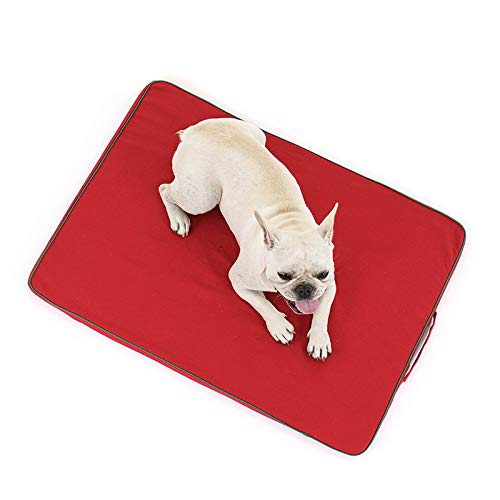 J Large washable dog bed XL (100 x 70cm), non-slip and chewy, easy to disassemble, two colors are available