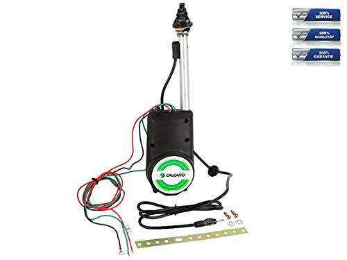 R SODIAL Auto Elektrik Luft Radio Automatische Booster Leistung Antenne Set Schwarz Auto Antenne