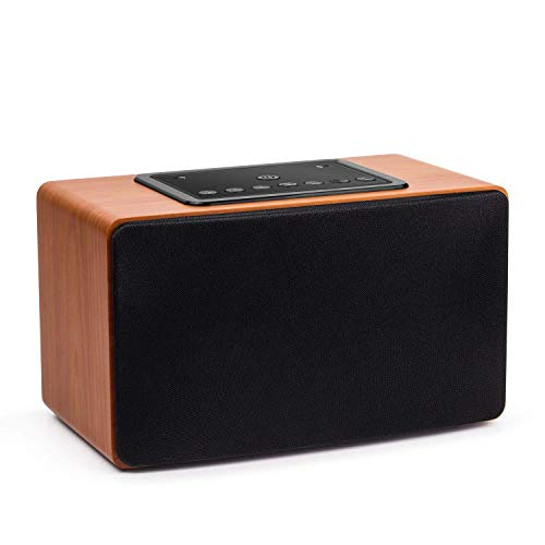 30W Wi-Fi Lautsprecher – August WS350 – Multiroom WLAN-Speaker für Musikstreaming (DLNA, Spotify Connect, Bluetooth, LAN Anschluss, bis 15h Akku) - kompatibel mit Android/iOS