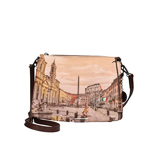 YNOT YES-399F0 TRACOLLA Donna STAMPA ROMA TU
