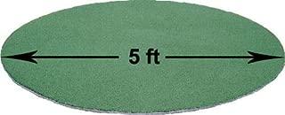 PREMIUM PRO TURF 5 Foot Diameter ON Deck FUNGO Batting Circle (5x5)