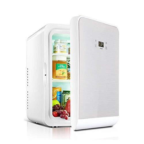 Flashing Draagbaar, klein, 22 l, Dual Core koelkast voor autoverwarming en koeling, 12 V, 220 V
