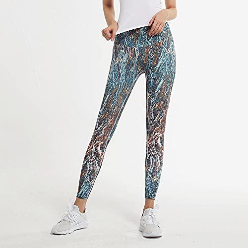 ArcherWlh Leggings Push Up Vita Alta,Pantaloni a Secco della velocità Nuda Pantaloni Yoga Sportivi Donne da Donna Formazione Fianchi Danza Fitness Pantaloni-Buchi_XL.