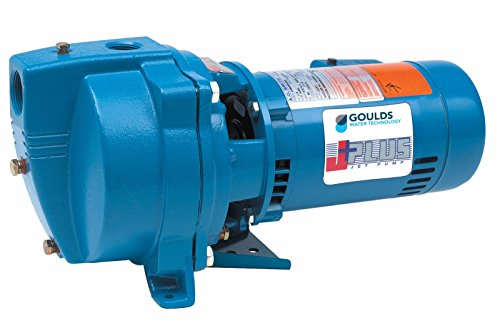 Goulds Pump J5S Shallow Well Jet Pump, 115/230 volt, 1/2 hp