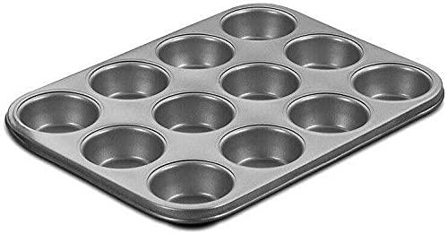 12 Limited time trial price Muffin Cupcake 2021 Pan - Chef's Bakeware C Classic Silicone molds