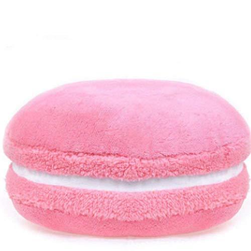 flower Einfarbige Französisch Macaron Französisch Macaroon Runde Kuchen Kreative Plüsch Puppe Snare Kissen Kissen Kissen Mit Kern Diamètre 37CM / 1. Poudre de viande
