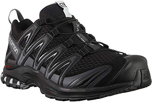 Salomon Men's XA Pro 3D Trail Running Shoes, Black/Magnet/Quiet Shade, 10.5 US