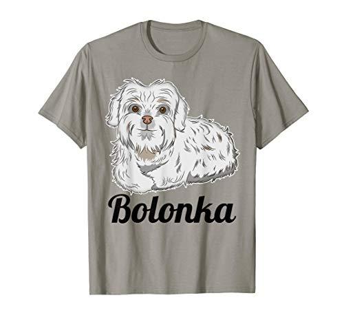 Bolonka Zwetna T-Shirt Geschenk für Frauchen und Herrchen T-Shirt