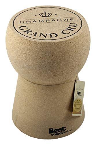 Beat Collection Champagne 1Hocker, 46x 34x 34cm, braun