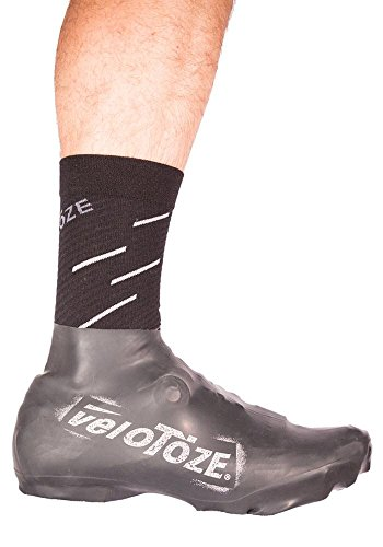 VELOTOZE Strong Baja couvres Zapatos Latex-vtt Mixta, Color Negro, tamaño M - 40,5/45,5