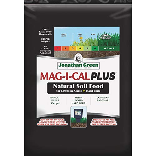 Jonathan Green Mag-I-Cal Plus for Acidic Soils Organic Lawn Fertilizer For All Grass Types 18 lb.