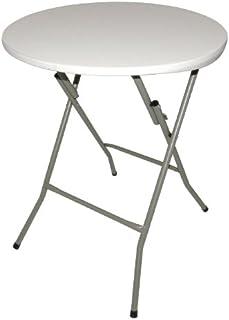 Table ronde pliable Bolero 735 x 600mm pour restaurant, bar, café salle à manger commerciale