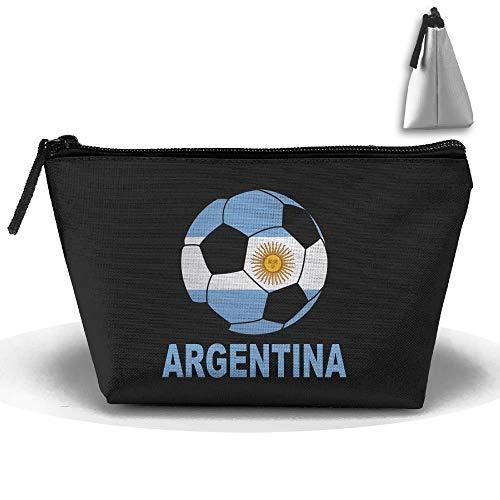 Bolsa de cosméticos Bolsa de bolsa de embrague de fútbol de Argentina Bolsa portátil