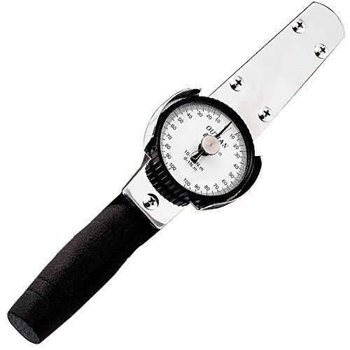 Preisvergleich Produktbild NEWTRY Drehmomentschlüssel Dynamometer Drehmomentmesser Digitaler Zeiger Kraftmessgerät (3-30Nm)