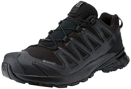 Salomon XA Pro 3D V8 W, Zapatillas De Trail Running Y Sanderismo Impermeables Versión Màs Ligera Mujer, Negro (Black/Black/Phantom), 38 2/3 EU