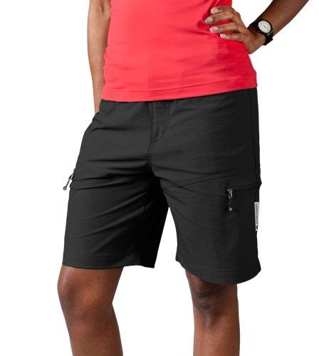 AERO|TECH|DESIGNS Women's Multi-Sport Shorts, Color Black, Size Large