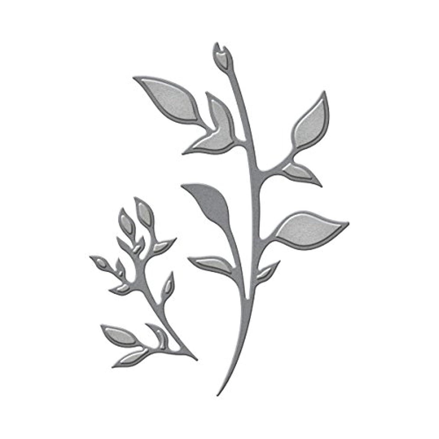 Spellbinders D-Lites Plants Etched Dies, Brown