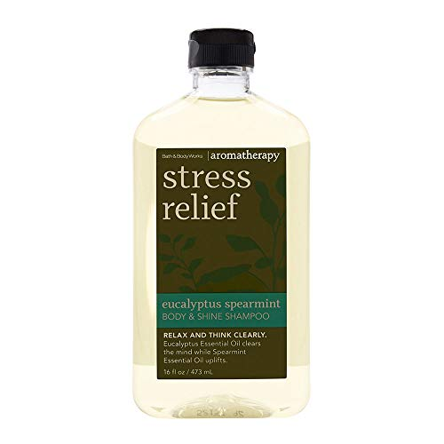 Bath & Body Works Stress Relief Eucalyptus Spearmint Body & Shine Shampoo 16 Fl Oz