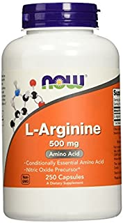 Sponsored Ad - NOW Foods L-Arginine 500mg, aw1yg Pack of 750 Capsules